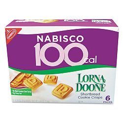 100 Calorie Lorna Doone Cookie Box of 6 Packs (LNA01413)