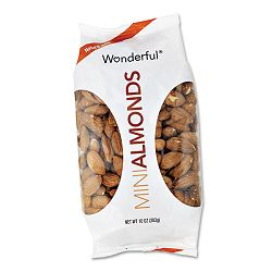 Wonderful Almonds Dry Roasted & Salted 10 oz. Box of 16 Bags (PAM043724WTA)