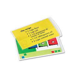 Laminating Pouches 5 mil 3-12 x 5-12 Index Card Size Pack of 25 (FEL52008)