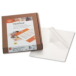 "HeatSeal Laminating Pouches 3 mil 8-14"" x 11-14"" Box of 100 (GBC3200586)"