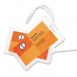 "HeatSeal Luggage Tag Size Laminating Pouches 5 mil 2-12"" x 4-14"" Pack of 25 (GBC3202005)"