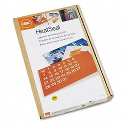 "HeatSeal LongLife Premium Laminating Pouches 5 mil 9"" x 14-12"" Box of 100 (GBC3740473)"