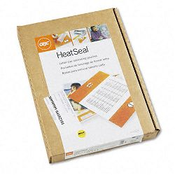 "HeatSeal Laminating Pouches 1.5 mil 11-12"" x 9"" Box of 200 (GBC3745100)"
