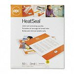 "HeatSeal Laminating Pouches 3 mil 9"" x 11-12"" Box of 50 (GBC3745690)"