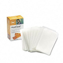 "HeatSeal Laminating Pouches 5 mil 2-316"" x 3-1116"" Business Card Size Pack of 100 (GBC51005)"