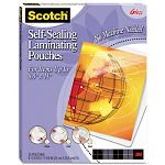 "Self-Sealing Laminating Sheets 9.5 mil 8-12"" x 11"" Pack of 25 (MMMLS85425G)"