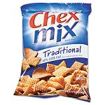 Chex Mix Traditional Flavor Trail Mix 3.75oz Bag Box of 8 Bags (AVTSN35181)
