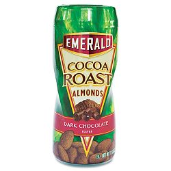 Dark Chocolate Cocoa Roast Almonds 11 oz On-the-Go Canister (DFD86301)