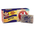 Pop Weaver Microwave Popcorn Butter Flavor Pack of 24 (OFX105110)