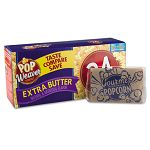Pop Weaver Microwave Popcorn Extra Butter Flavor Pack of 24 (OFX105112)