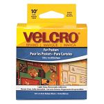 Removable Fasteners for Posters 10 ft. Cut-to-Length Roll White (VEK90958)