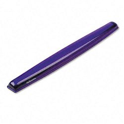 Gel Crystals Keyboard Wrist Rest Purple (FEL91437)