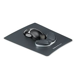 Memory Foam Gliding Palm Support with Mouse Pad Graphite (FEL9180101)