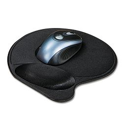 Extra-Cushioned Mouse Wrist Pillow Pad Black (KMW57822)