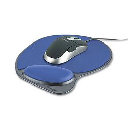 Wrist Pillow Memory Foam Mouse Wrist Rest Blue (KMW62817)
