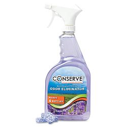 Conserve Odor Neutralizer One Gallon Four 32 oz. Refills Lavender (BAU10500)