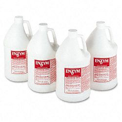 Enzym D Digester Liquid Deodorant Lemon 1 Gallon Carton of 4 (BGD1500)