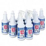 Conqueror 103 Odor Counteractant Concentrate Lemon 32 oz Bottle Carton of 12 (FPI1232WBLECT)