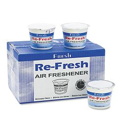 Re-Fresh Air Freshener Citrus Gel 4.6 oz. Box of 12 (FPI124GCIT)