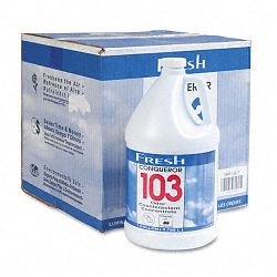 Conqueror 103 Odor Counteractant Concentrate Cherry 1 Gallon Bottle Carton of 4 (FPI1WBCHCT)