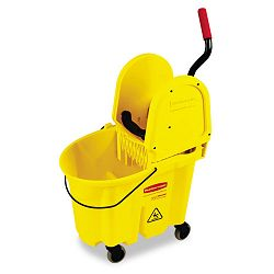 Wavebrake 35-Quart BucketWringer Combinations Yellow (RCP757788YW)