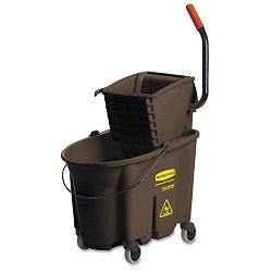 Wavebrake 35-Quart BucketWringer Combinations Brown (RCP758088BN)