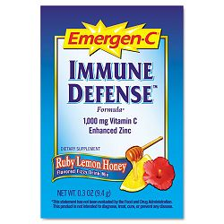 Immune Defense Drink Mix Ruby Lemon Honey 0.3 oz Packet 30 Packets (ALAEF131)