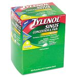 Sinus Caplets Box of 50 Two-Packs (MCL26250)
