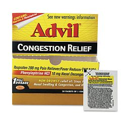 Congestion Relief Box of 50 One-Packs (PFYBXAVCR50)