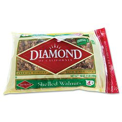 Shelled Walnuts 1 lb Bag (DFD04211)