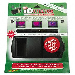 iDetector Counterfeit Currency & ID Detector with Ultraviolet Light (DRIUVD549)