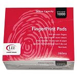 "Inkless Fingerprint Pad 2-14"" x 1-34"" Black 1 Dozen (LEE03127)"