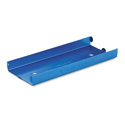 Rolled Coin Aluminum Tray with Denomination & Quantity Etched on Side Blue (MMF211010508)