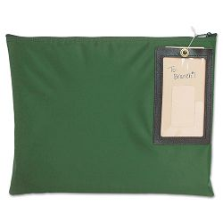 "Cash Transit Sack Nylon 14"" x 11"" Dark Green (MMF2341411N02)"