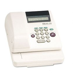 "Electronic Checkwriter 14-Digit 7-78""x 9-58"" x 3-58"" (MXBEC70)"