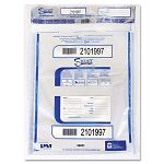 "Triple Protection Tamper-Evident Deposit Bags 20"" x 24"" Clear Pack of 50 (PMC58051)"