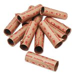 Preformed Tubular Coin Wrappers Quarters $10 Carton of 1000 (PMC65072)