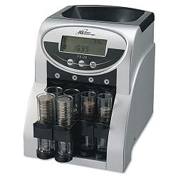 Fast Sort FS-2D Digital Coin Sorter Pennies Through Quarters (RSIFS2D)
