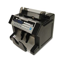 "Electric Bill Counter with Counterfeit Detection 1200 Bills per Minute.10.2""Wx9.5""Dx8.5""H Black & Silver (RSIRBC3100)"