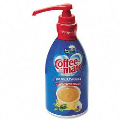 Liquid Coffee Creamer Pump Dispenser French Vanilla 1.5 Liter (NES31803)