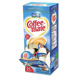 French Vanilla Creamer .375 oz. Box of 50 Creamers (NES35170)