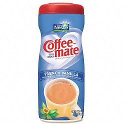 French Vanilla Creamer Powder 15-oz Plastic Bottle (NES49390)