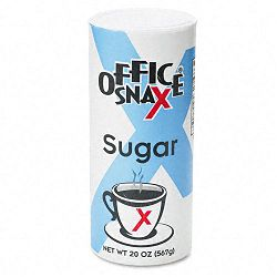Reclosable Canister of Sugar 20-oz. (OFX00019)