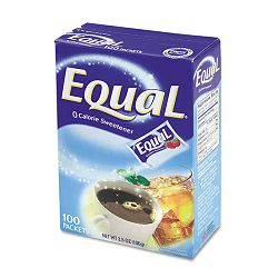 Equal Sweetener Packets 100 Packets per Box (OFX20008694)