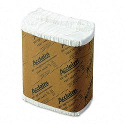 Tall Fold Dispenser Napkins One-Ply 7 x 13-12 White 10000Carton (GEP33201)