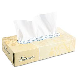 Preference Facial Tissue Flat Box 100 SheetsBox 30 BoxesCarton (GEP48100)