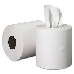 SCOTT Roll Control Center Pull Towels 8 x 12 White 700Roll 6Carton (KIM01032)