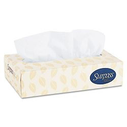 SURPASS Facial Tissue 2-Ply 100Box 12Carton (KIM03131)