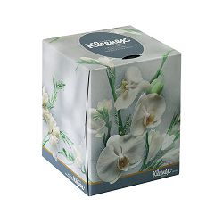 KLEENEX BOUTIQUE Two-Ply White Facial Tissue 95 TissuesBox 36 BoxesCarton (KIM21269)