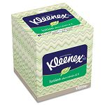 KLEENEX BOUTIQUE Lotion White Facial Tissue 3-Ply POP-UP Box 80Box (KIM26080BX)